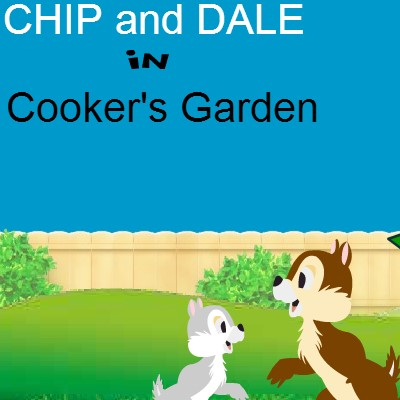 Гра для дітей: Чіп і Дейл в саду