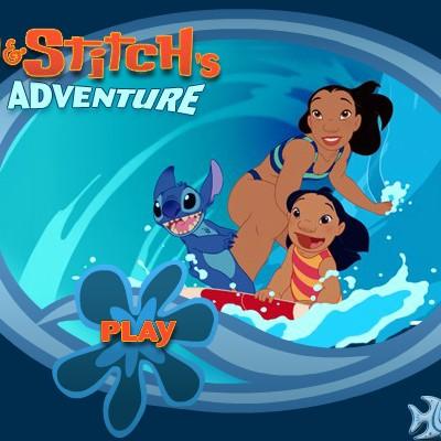 Гра для дітей: Ліло і Стіч на серфі