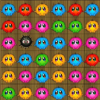 Гра для дітей: Веселі хутряні кульки