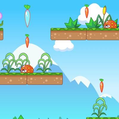 Гра для дітей: Райдужний Кролик