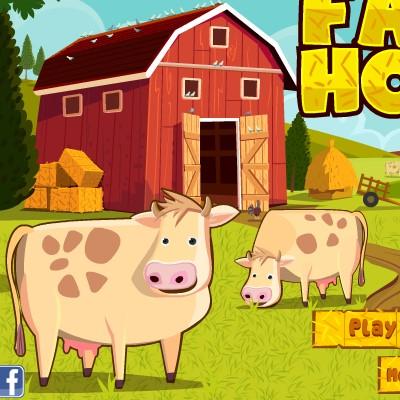 Гра для дітей: Фермерський Будинок