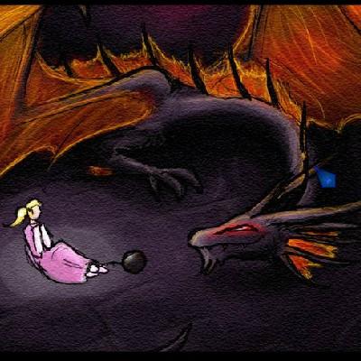 Гра Злий Дракон захопив принцесу