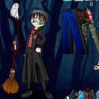 Гра Одягни мультяшного Гаррі Поттера