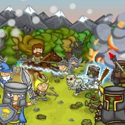 Гра Захист поселення від Зомбі