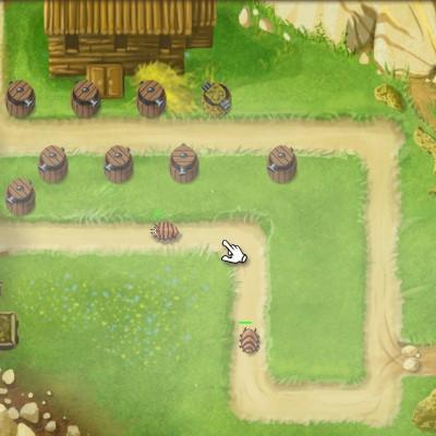 Гра Захист Ферми від шкідників
