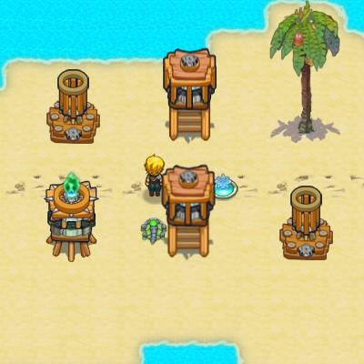 Гра будувати вежі для захисту островів