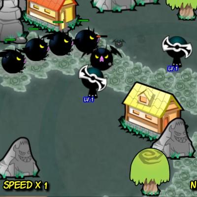 Гра Захист Вежі: Моторошний Рейнджер