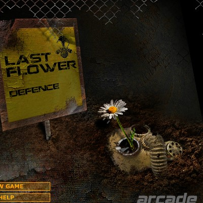 Гра Захист останнього квітки