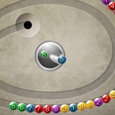 Гра Зума: Кульки з номерами