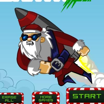 Гра Літалки: Ракетний Санта 2