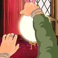 Гра Гаррі Поттер і Магічна куля: повторюй за професором Трелоні!
