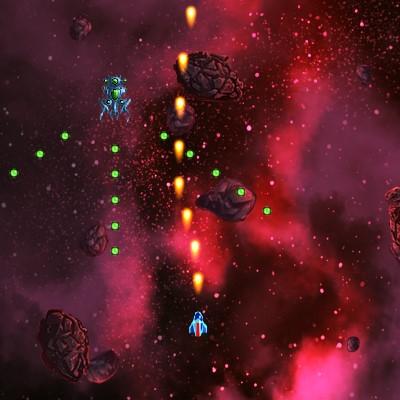 Гра Летялка Стрілялка у відкритому космосі