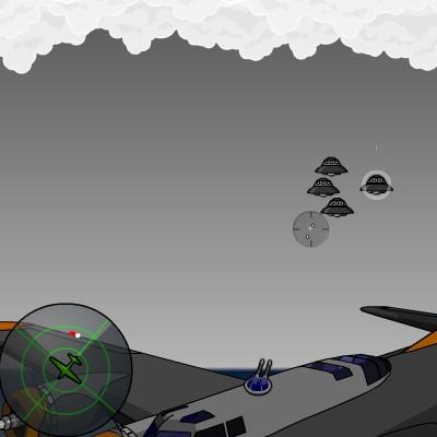 Гра Підбити Літаючу Тарілку НЛО
