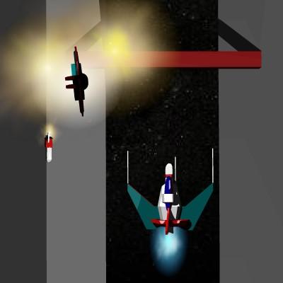 Гра Леталка на космічному кораблі: Стріляємо Плазмою за НЛО