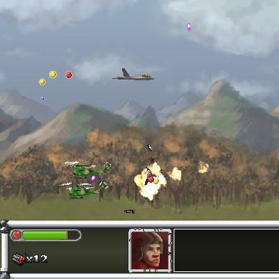 Гра Леталка: Літак проти Вертольотів Прибульців