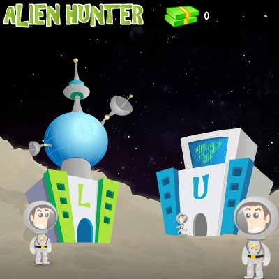Гра Леталка з космонавтом: Мисливець за прибульцями