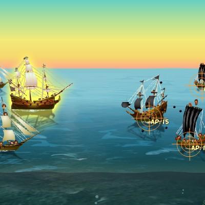 Гра Морський Бій в карибському морі