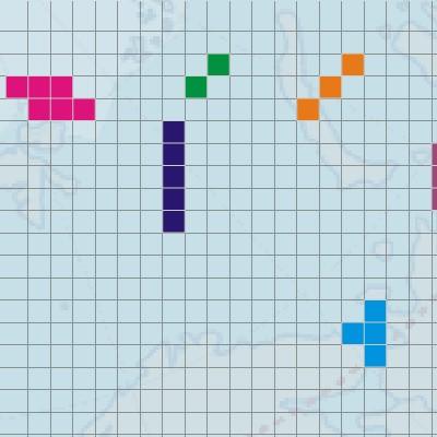 Гра Морський Бій: Тетріс Стиль