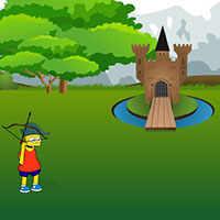 Гра Сімпсони стріляють з лука