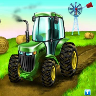 Гра Парковка Трактора
