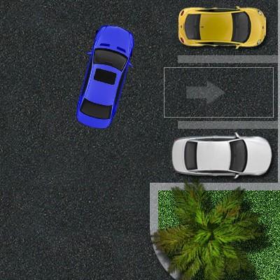 Гра Парковка Машини на стоянці