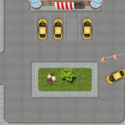 Гра Парковка Таксі в місті на час