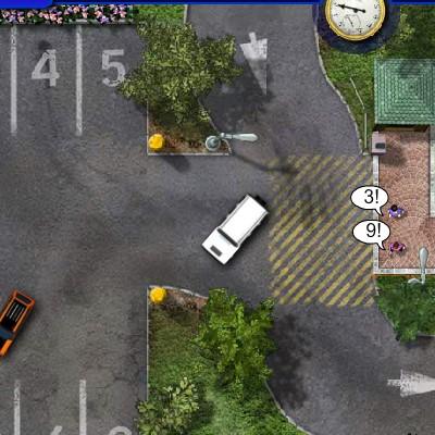 Гра Паркувальник машин