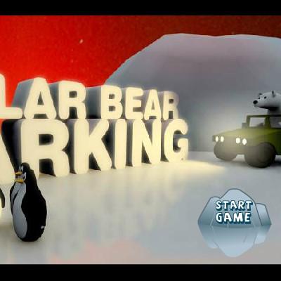 Гра Парковка на льоду: Полярний Ведмедик