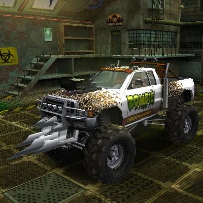 Гра Парковка Зомбі Позашляховика 3Д
