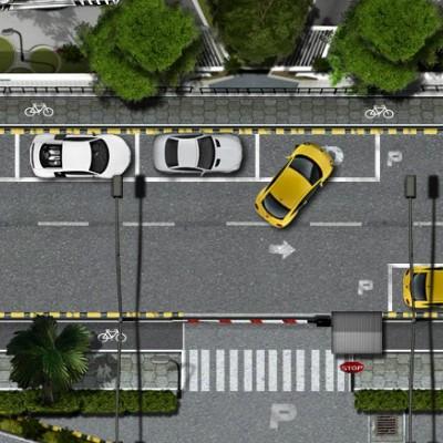 Гра Парковка в Центрі Міста