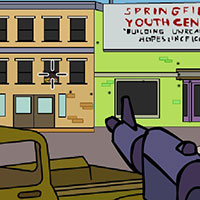 Гра Сімпсони - перестрілка