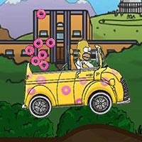 Гра Сімпсони: Гомер збирає пончики