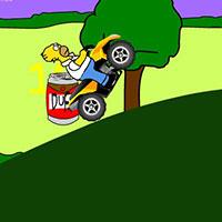 Гра Сімпсони: Гомер на мотоциклі