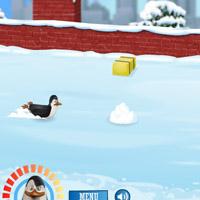Гра Пінгвіни з Мадагаскару: Заїзд по льоду