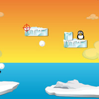 Гра Стрільба Пінгвінами