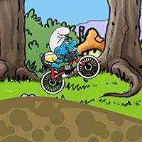 Гра Смурфики на велосипедах
