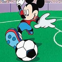 Гра Міккі Маус грає у футбол