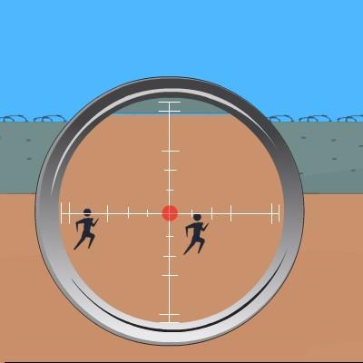Гра Влучний Снайпер по Біжучим Мішенях