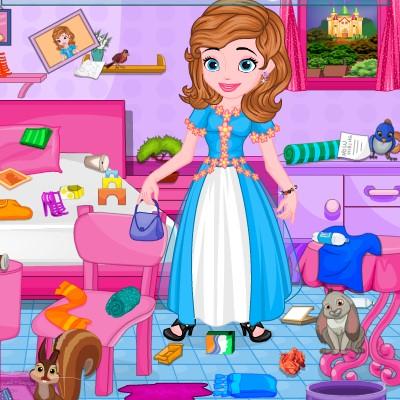 Гра Софія Прекрасна: Прибирання кімнати