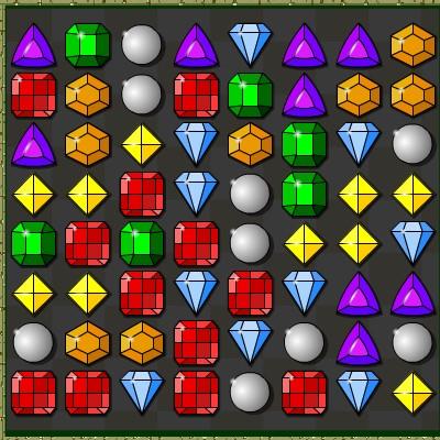Гра Три в Ряд: Печера з Дорогоцінними Каменями
