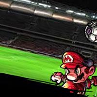 Гра Маріо грає у футбол