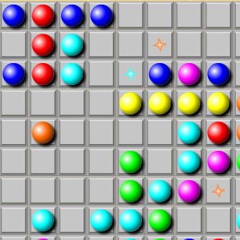Гра Кульки, М'ячики в Лінію