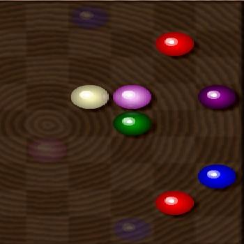 Гра П'ять Кульок в Лінію на Дереві