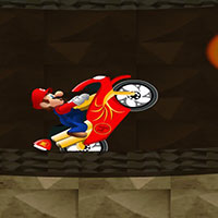Гра Маріо на мотоциклі