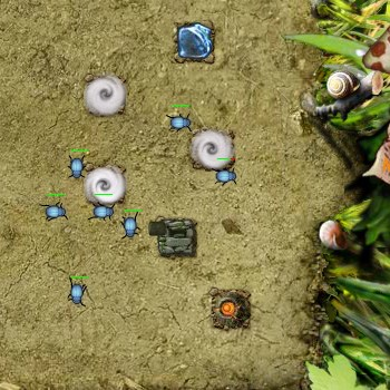 Гра Захист Башти від Атаки Жуків