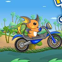 Гра Покемони катаються на мотоциклах