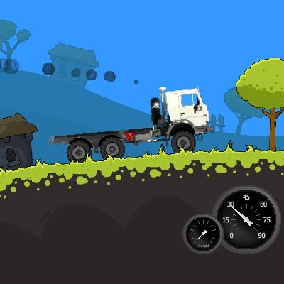 Гра Вантажівки 3: Доставка КАМАЗ