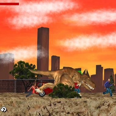 Гра Динозавр Тиранозавр