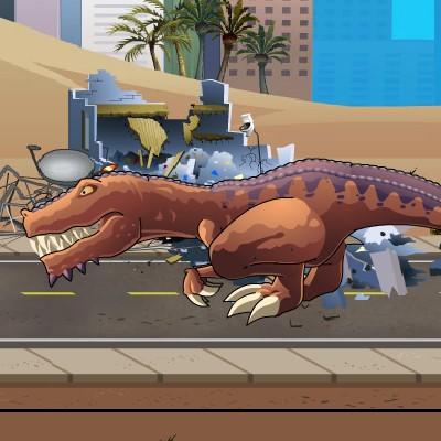 Гра Динозавр Рекс: Доісторична Піца