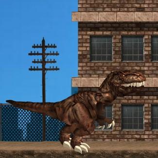 Гра Динозаври у Місті Нью-Йорк